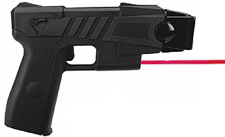 Advanced Taser with laser