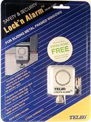 sliding door lock/alarm
